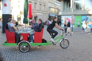 MOVEBYBiKE Malmö rullande cafébord