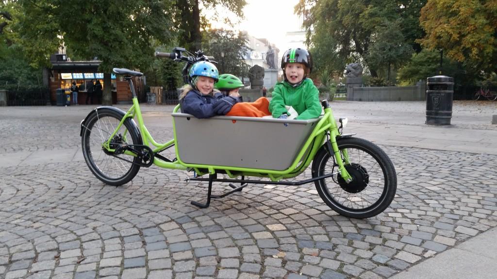 Lådcykel eller lastcykel