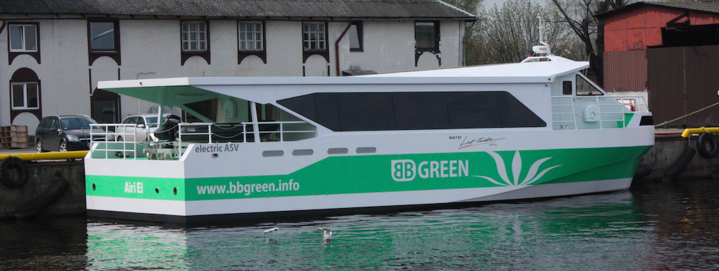 BB Green electric boat